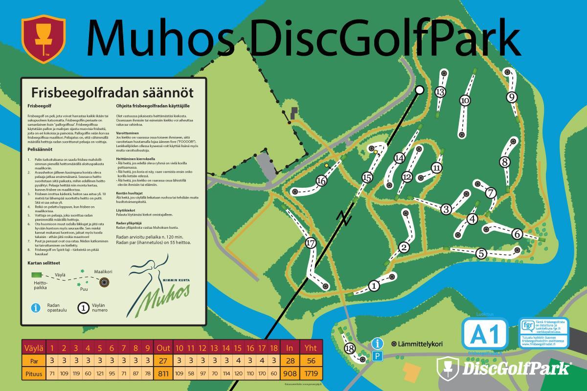 DiscGolfPark_InfoBoard_Muhos_vedos02