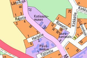Muhoksen Kartta