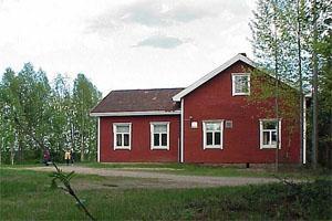 Vanha Laitasaaren kansakoulu Nykyinen Laitasaaren seurojentalo (2007)