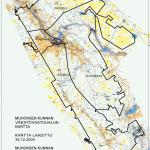 Kartta väestövastuualueista (yleinen)