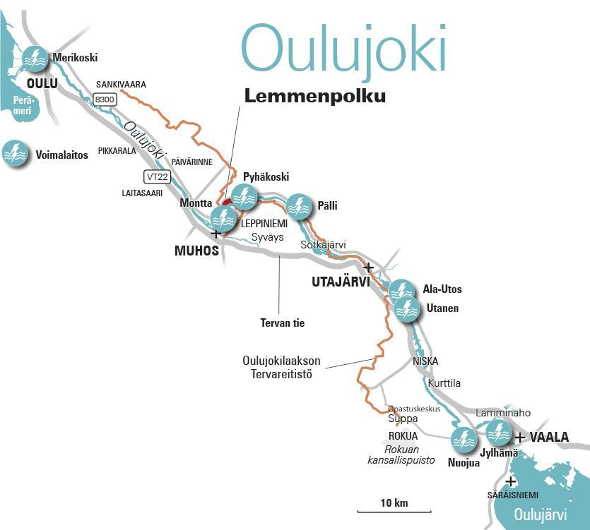 Oulujoki Muhoksen Kunta